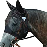 Cashel Quiet Ride Fly Mask with Ears - Horse