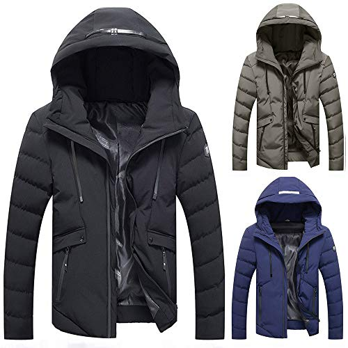 kemilove Mens Jacket Winter Coat-Ideal Outer in Cold Weather at Amazon Mens Clothing store: