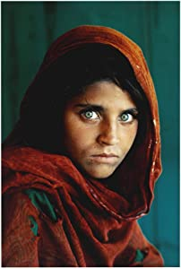 National Geographic Magazine Cover Afghan Girl Prints Famous Photographs Portrait Poster Wall Decor 24x36 Inches Photo Paper Material Unframed