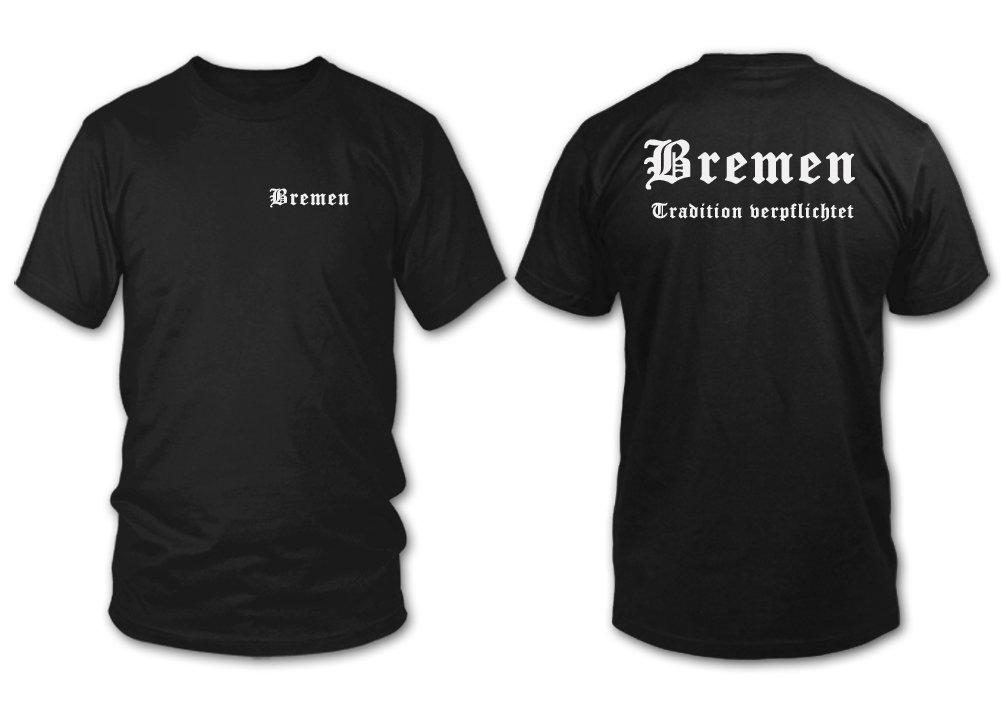 D/ÜSSELDORF shirtloge Fan T-Shirt Tradition verpflichtet XXL Gr/ö/ße S