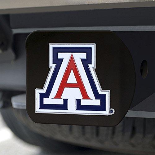 FANMATS NCAA Arizona Wildcats University of Arizonacolor Hitch - Black, Team Color, One -