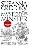 Front cover for the book Mystery in the Minster by Susanna Gregory