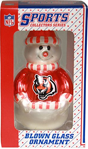 (NFL Cincinnati Bengals Snowman Ornament)