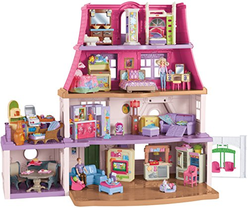 Fisher price loving family dollhouse buy online in uae for Price my house free online
