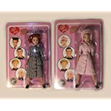 "Set of 2 I Love Lucy 8"" Action Figures"