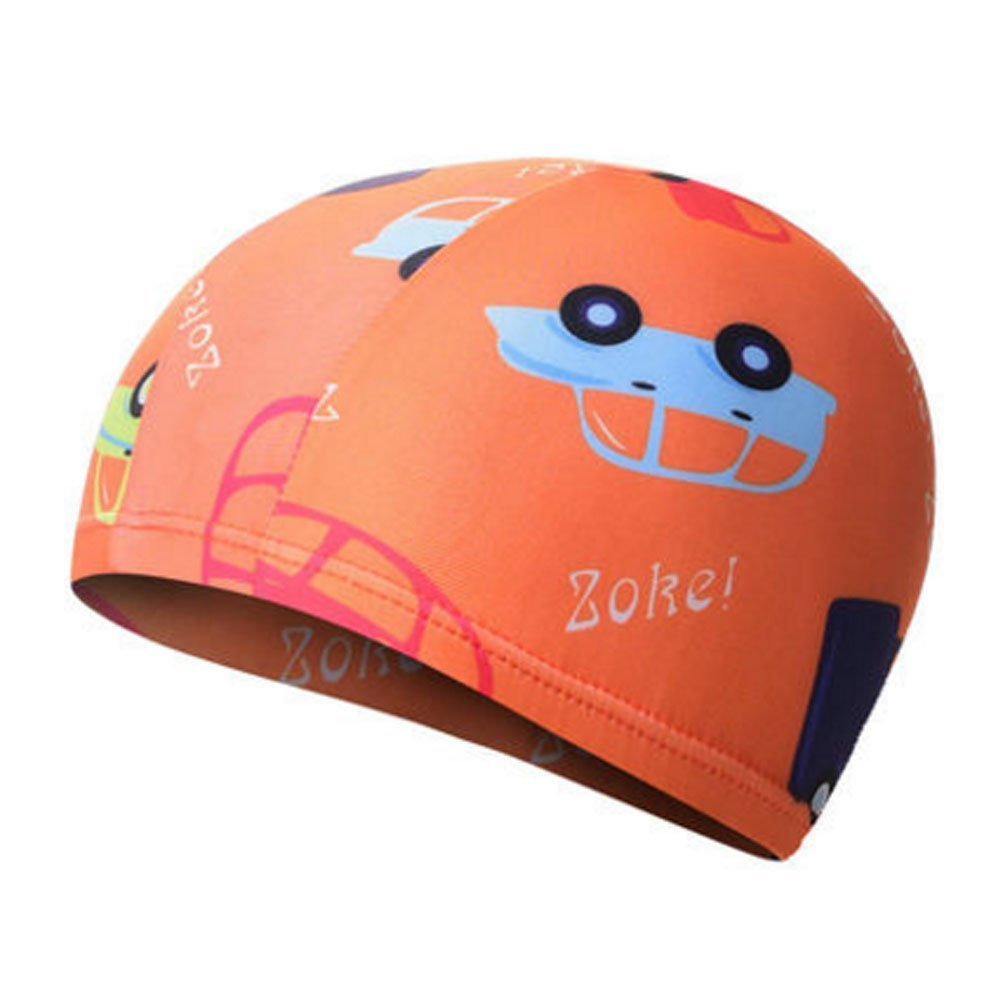 Kylin Express Fun Swimming Cap for Kids & Toddlers -Kids Swim Cap Durable Swimwear Hair & Ear Protector,#B