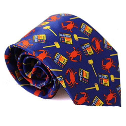 Route One Apparel | Crab, Mallet and Old Bay Maryland Tie