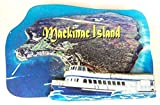 Mackinac Island with Ferry Boat Artwood Fridge Magnet offers