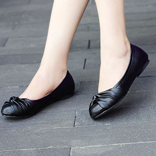 and Black Large for Casual Size All Match Flats Available Shoes 4 Colors Smilice Ladies XRYOwq