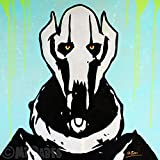 MR.BABES - ''Star Wars: General Grievous'' - Original Pop Art Painting - Movie Portrait