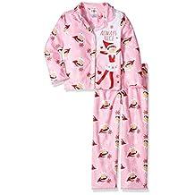 Elf on the Shelf Girls' 2-Piece Pajama Coat Set