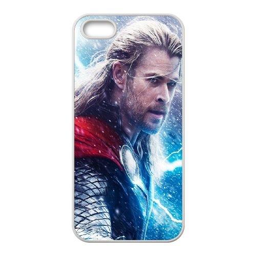 Thor Dark World coque iPhone 4 4S cellulaire cas coque de téléphone cas blanche couverture de téléphone portable EOKXLLNCD20392