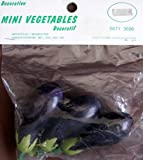 Decorative Mini Vegetables: Eggplants