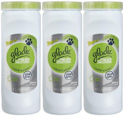 Glade Tough Odor Solutions Carpet & Room - Fresh - 32 oz - 3 pk by Glade