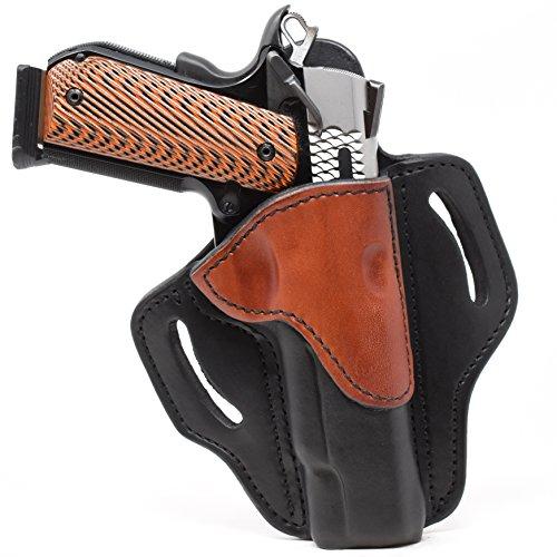 1791 GUNLEATHER BH1-BLB-R BH1 OWB HOL BRN/BLK RH 1911 (Best Priced 1911 Pistols)