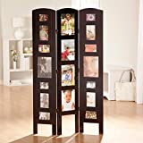 Memories Photo Frame Room Divider - 3 Panel