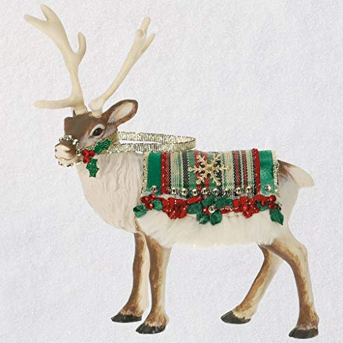 - HMK Keepsake 2019 Father Christmas's Reindeer Ornament