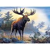 Buffalo Games Hautman Brothers, Northwoods Moose - 1000pc Jigsaw Puzzle