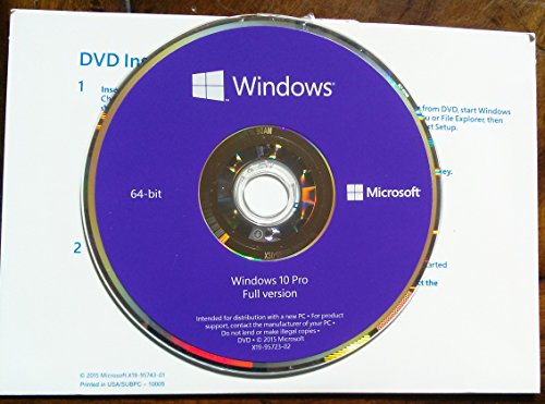 microsoft windows 10 pro 64 bit oem pc disk buy online