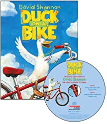 Duck on a Bike (Read Along Book & CD)