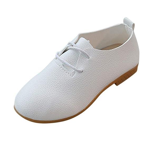 dans quelques jours collection de remise Nouvelles Arrivées Fille Chaussures en Cuir de Couleur Unie Mocassins Plates ...
