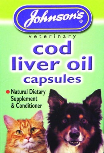 Johnsons Veterinary Products Cod Liver Capsules, 40 Capsules