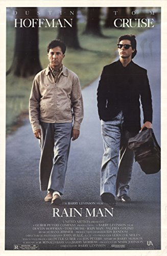 Rainman Poster - Rain Man 1988 Authentic 27