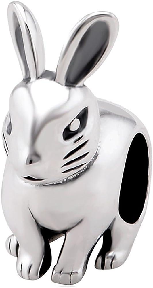 pandora charm coniglio