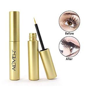 Advanced Eyelash Growth Serum Eyebrow and Eyelash Enhancer, Eyelash Growth Serum Best enhancer for Longer, Thicker 5ml-Aolvo