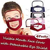 Reusable and Breathable Visible Face Bandanas
