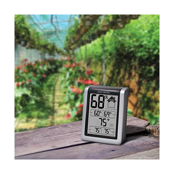 AcuRite-00613-Humidity-Monitor-with-Indoor-Thermometer-Digital-Hygrometer-and-Humidity-Gauge-Indicator