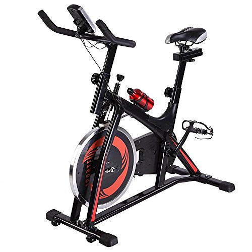 CHIMAERA Spin Cycle Indoor Exercise Bike Stationary Spinning Cycling Fitness (Black)