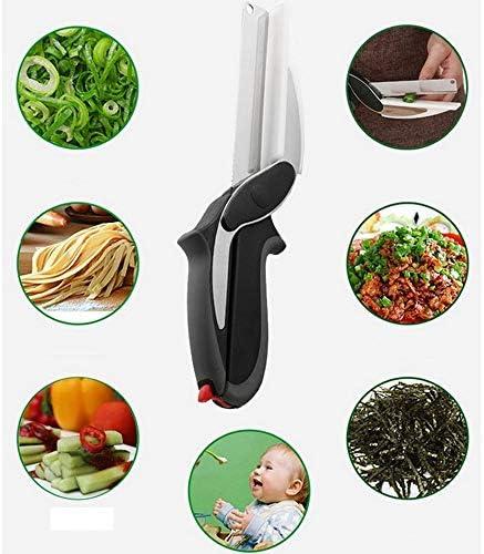 Qiyuezhuangshi 多機能はさみ、キッチンはさみ、ポータブルピクニック野生のキャンプ野菜食品はさみ、高品質 高品質 - 最良の選択