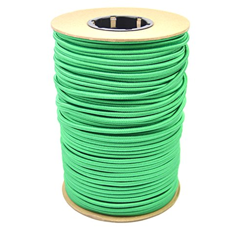 Marine Masters 1/4'' 500ft Spool Green Bungee / Shock Cord Crafting Stretch String, Tie Down Trailer Strap (500 Feet) by Marine Masters