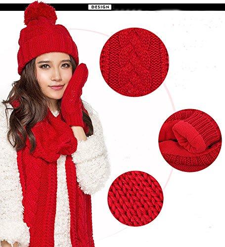 Withered - Ensemble Bonnet, écharpe et Gants - Femme - Marron - Taille  Unique  Amazon.fr  Vêtements et accessoires a33b9ed90b6