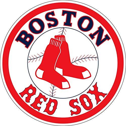 ShopForAllYou Stickers & Decals Boston Red Socks MLB Logo Bumper Window Sticker Vinyl ()