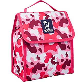 Lunch Bag, Wildkin Lunch Bag, Insulated, Moisture Resistant, Easy to Clean and Folds Flat Making Storage That Much Easier, Ages 3+, Perfect for Kids or On-The-Go Parents – Pink Camo (B01BWM562Q)   Amazon Products
