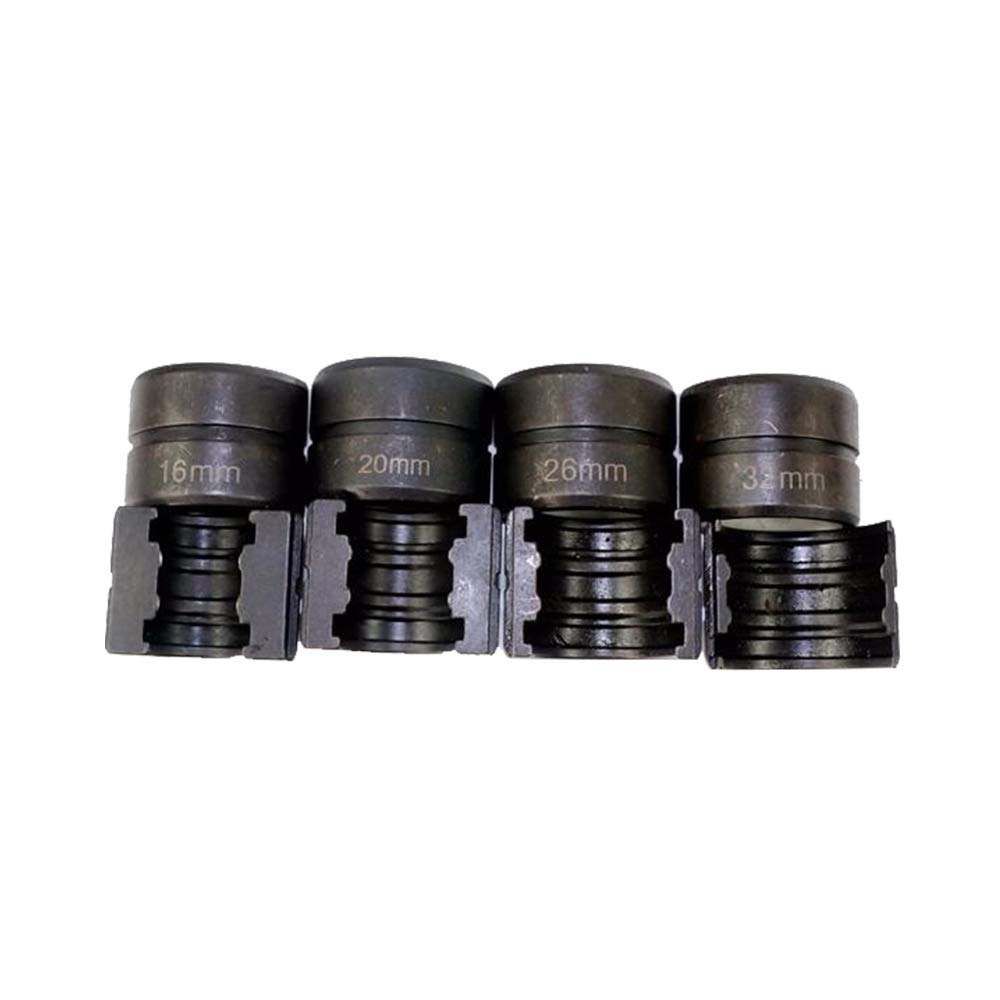 TH Pipe Dies of Hydraulic Pipe Pressing Tools for PEX Fittings with Sizes of 16mm TH16mm 20mm,25mm 26mm /& 32mm