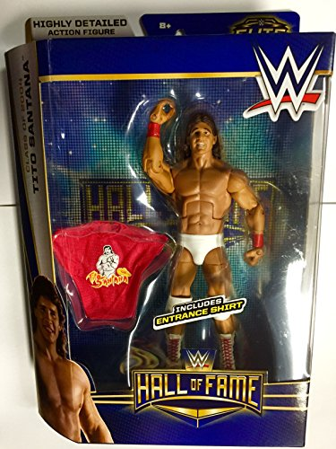 WWE Elite Hall Of Fame TITO SANTANA Class Of 2004 by Mattel