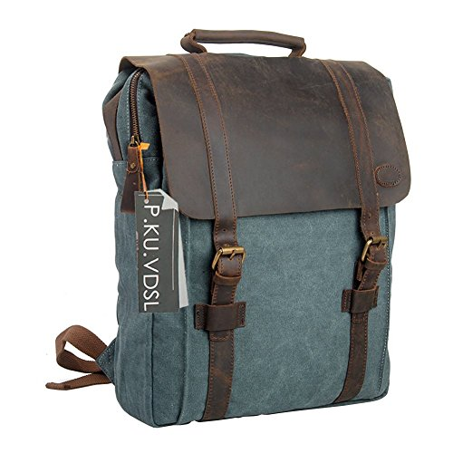 Travel Outdoor Computer Backpack Laptop bag 15.6''(blue) - 8