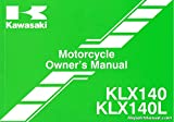 99987-1772 2014 Kawasaki KLX140/L Motorcycle Owners Manual