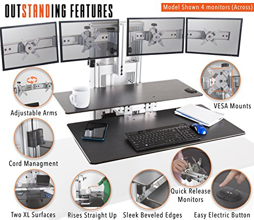 Stand Steady Ergotech One Touch Electric Standing Desk