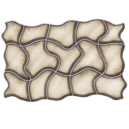 Spellbinders Megabilities Dies-Abstract Mosaic ()