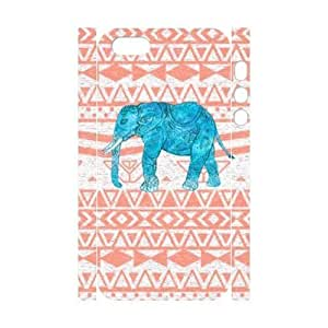 Aztec Elephant 3D-Printed ZLB533222 Personalized 3D Cover Case for Iphone 5,5S by icecream design