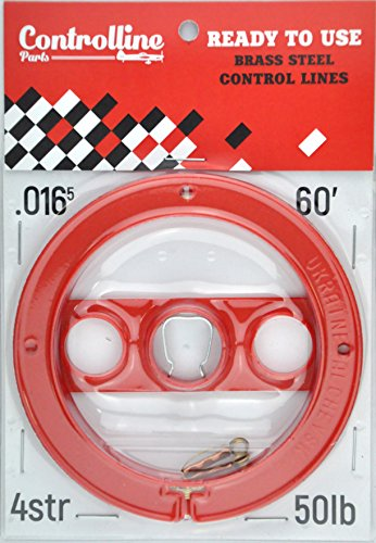 60' ready-to-use 0.016x2 control line (Control Line Wire)