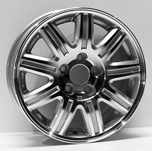 Town Car Alloy Rim Wheel - Partsynergy Replacement For New Replica Aluminum Alloy Wheel Rim 16 Inch Fits 04-07 Chrysler Town & Country 5-115mm 9 Spokes