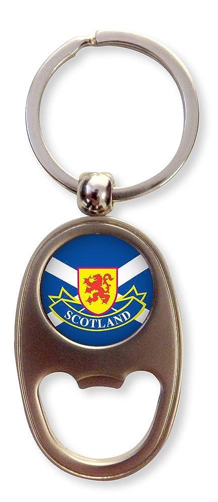 Scottish Flag Keyring Bottle Opener