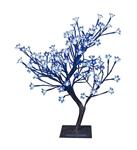 Blue Led Light Tree - 8
