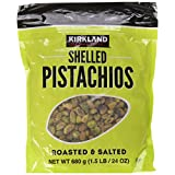 Kirkland Signature Shelled Pistachios Roasted & Salted 1.5 LB