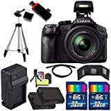 Panasonic Lumix DMC-FZ300 Digital Camera + Extra Battery + Charger + 32GB Card + HDMI Cable + Tripod + USB Card Reader + Deluxe Accessory Kit Bundle Review
